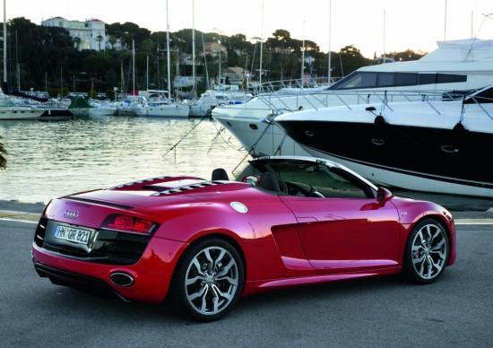 Снимки: Audi пуска R8 Spyder с 4.2 V8