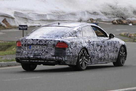 Снимки: Утре ще покажат четиривратото купе Audi A7 Sportback