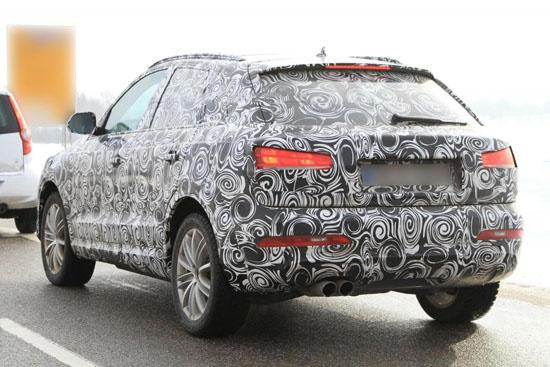 Снимки: Audi изкара компактния Q3 на тестове