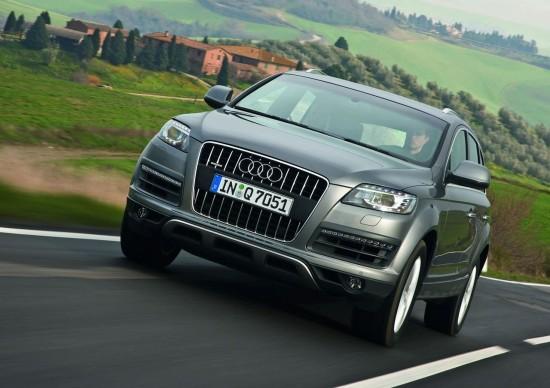 Снимки: Audi подлага на диети Q7