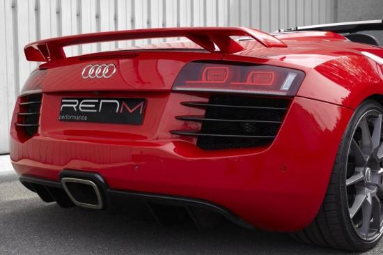 Снимки: RENM се постараха Audi R8 V10 Spyder да изглежда като по-спортния GT