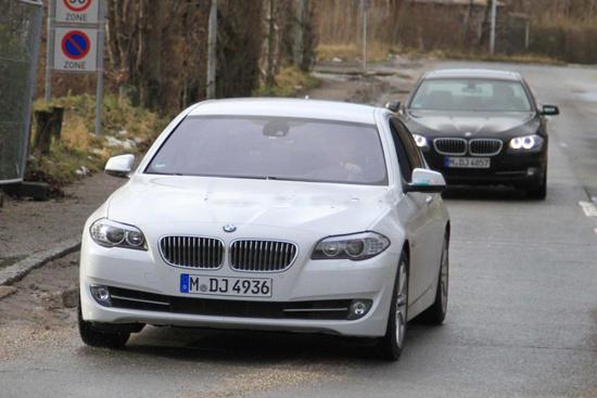 Снимки: BMW стартира тестовете на 5-а Серия ActiveHybrid