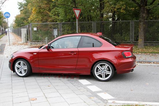 Снимки: BMW подложи на модернизация 1-а Серия E82