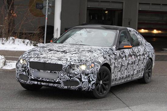 """Снимки: BMW напредва с тестовете на новата """"3-ка"""""""