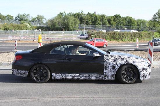 """Снимки: Наближава появата на """"внушителния""""  BMW M6 Convertible"""