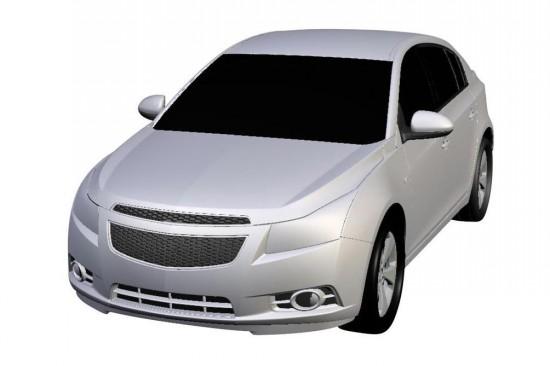 Снимки: През 2011-а идва серийния хечбек Chevrolet Cruze