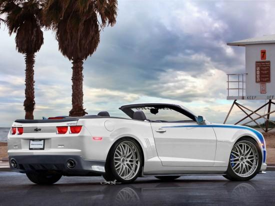 Снимки: От Hennessey представиха неукротим Camaro Convertible