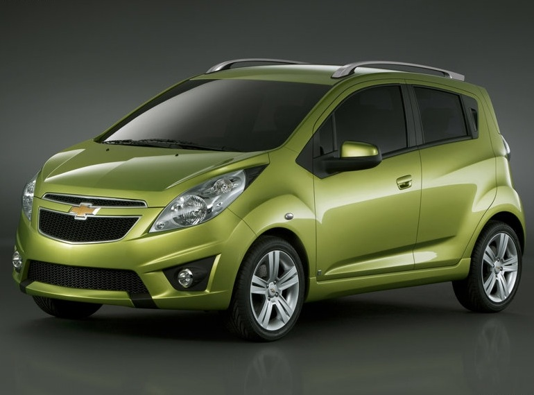 Снимки: Chevrolet Spark пристига в България