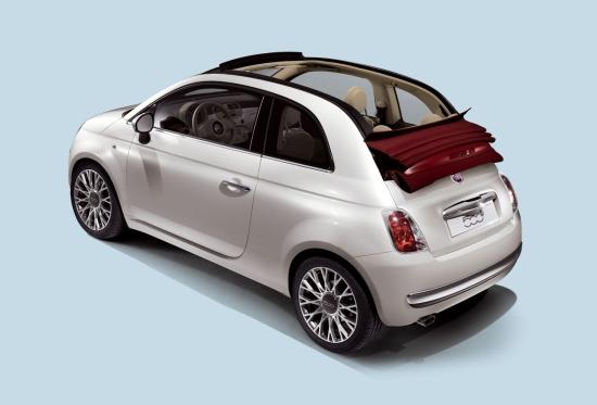 Снимки: Преди Женева: Разкриха Fiat 500 кабриолет