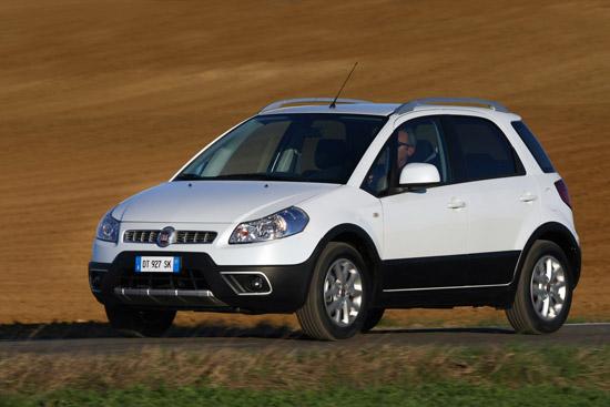 Снимки: Fiat Sedici получи фейслифт