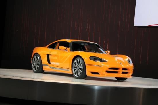 Снимки: Детройт 2009: Jaguar XKR - разликата е под капака