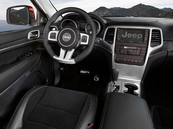 Снимки: Новият Jeep Grand Cherokee SRT8 демонстрира мускули в изобилие