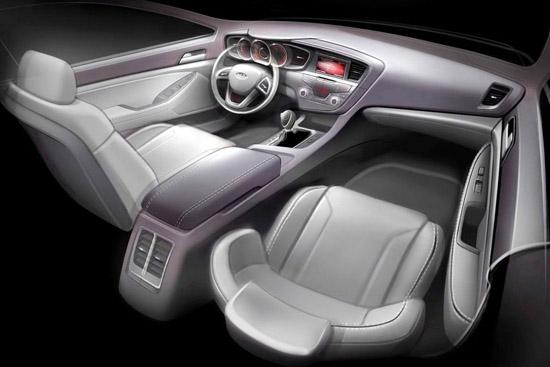 Снимки: Луксозния седан на Kia разкри своя интериор