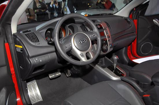 Снимки: Ню Йорк 2009: Kia показа Forte купе