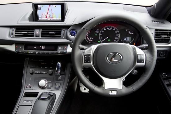 Снимки: Хибридния Lexus CT 200h вече претендира за шампионски титли