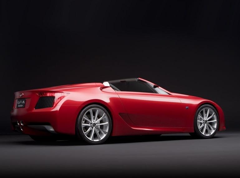 Снимки: Lexus обяви цената на LF-A