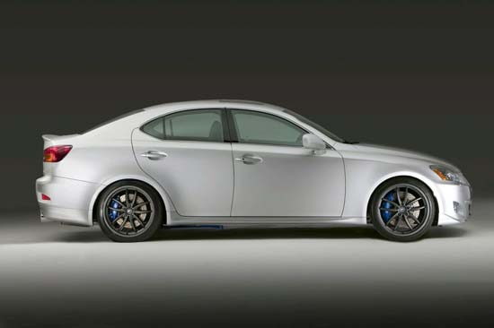 Снимки: Lexus направи аксесоари за GS, IS C и IS AWD