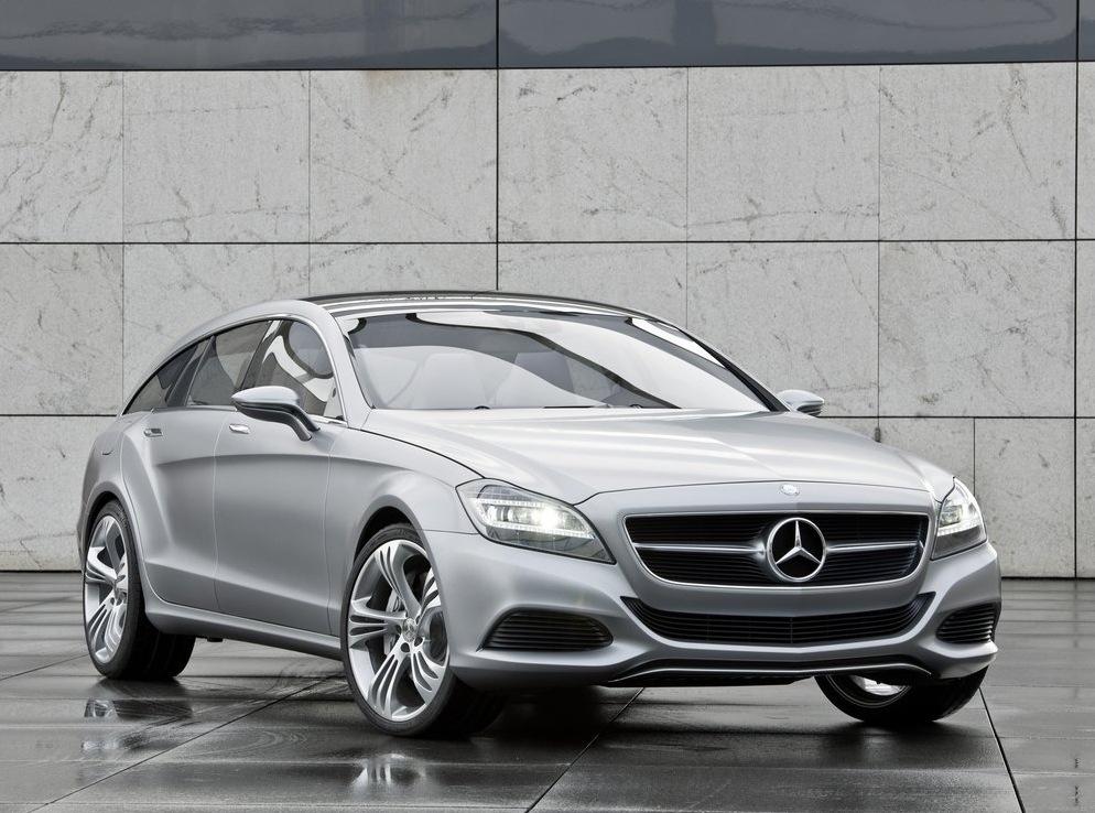 Снимки: Mercedes-Benz ще изкара комби версия на CLS през 2012