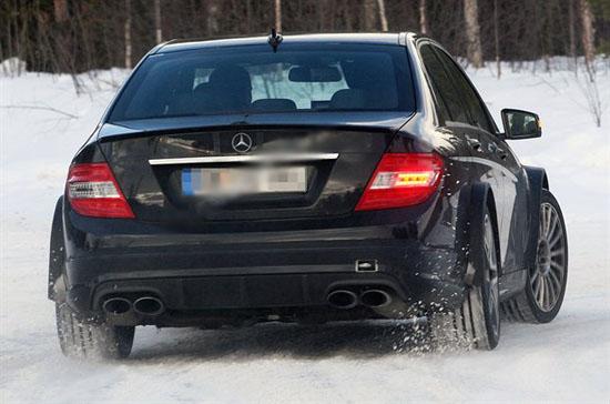 Снимки: Сега идва на ред Mercedes C63 AMG Black Series