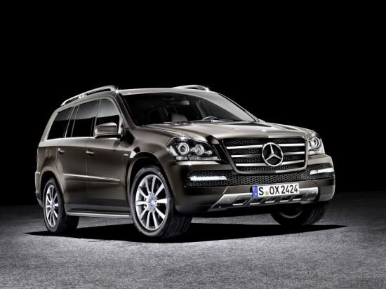 Снимки: Величествената Grand Edition серия на Mercedes GL
