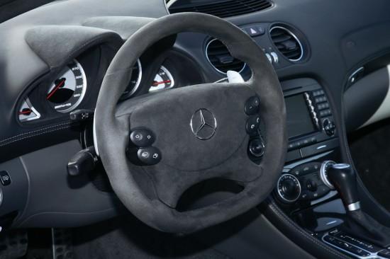 Снимки: Inden Design създадоха SL 65 AMG Black Series, но кабриолет