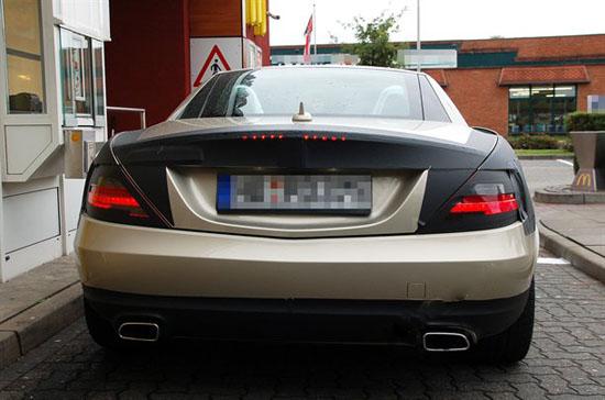 Снимки: Новия Mercedes-Benz SLK иска вече да почва серийно производство