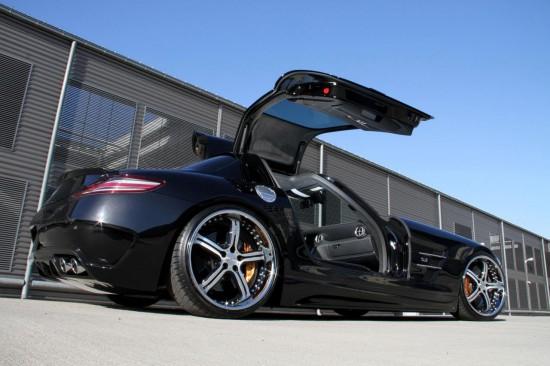 Снимки: MEC Design стилизираха по свой вкус SLS AMG