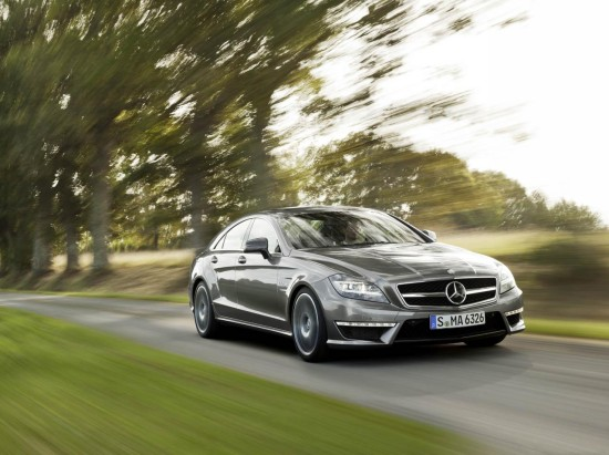 Снимки: Новият Mercedes CLS 63 AMG демонстрира много, много мускули