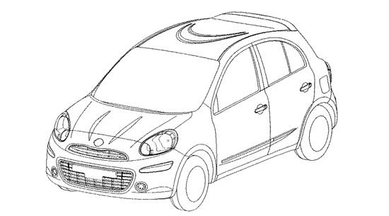 Снимки: Nissan показа бъдещият Micra в скици