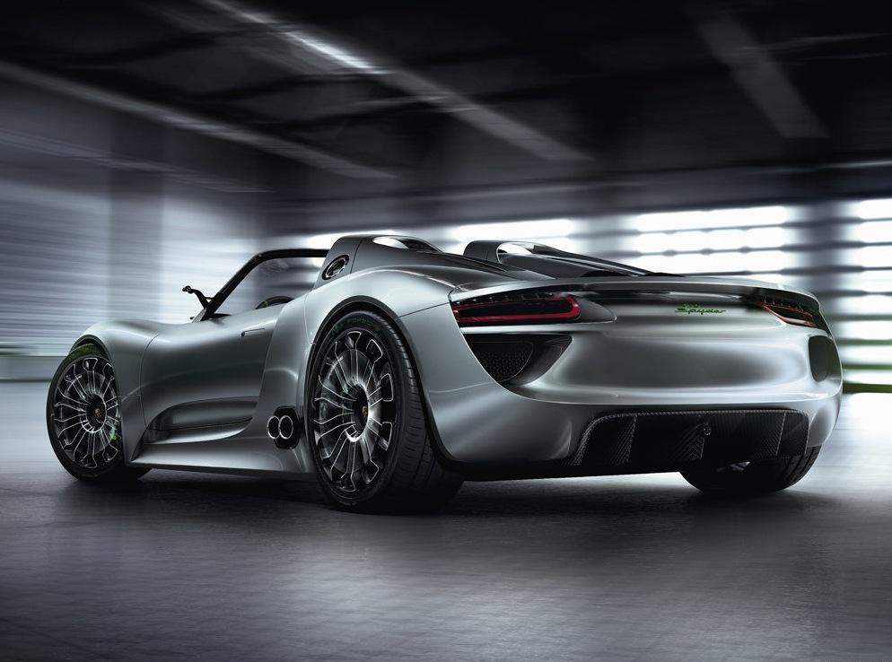 Снимки: Най-скъпият модел на Porsche ще бъде 918 Spyder