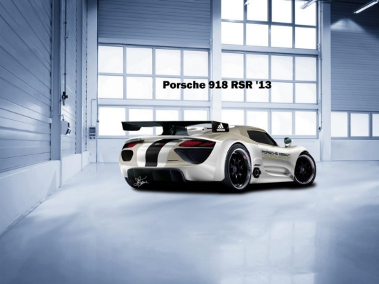 Снимки: Появиха се силни рендер снимки на Porsche 918 RSR