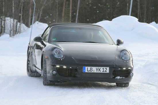 Снимки: Porsche разработва новото поколение 911