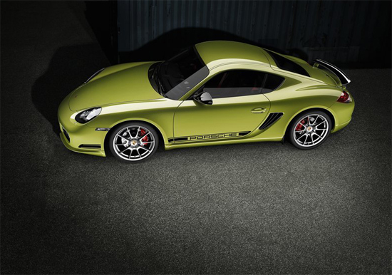 Снимки: Porsche се постара Cayman R да изглежда фантастично