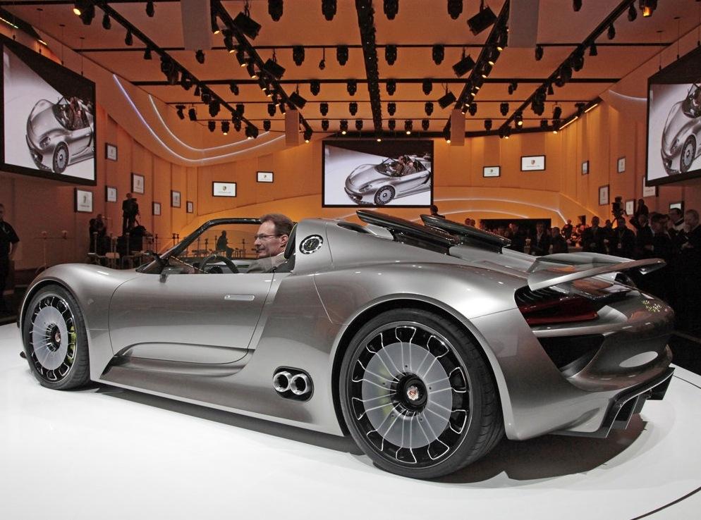 Снимки: Porsche ще присъства на моторшоуто в Детройт, но с какво?