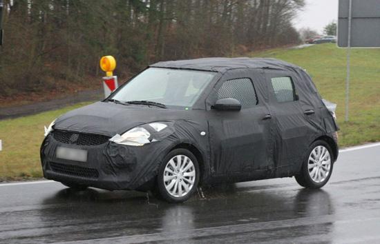 Снимки: Suzuki подготвя новият Swift