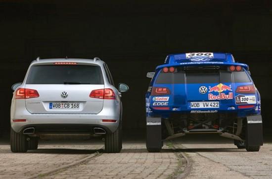 Снимки: Дойде време и за VW Race Touraeg RT3