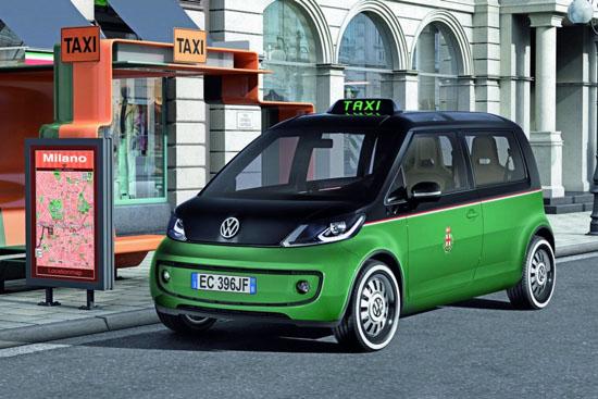 Снимки: Концептуално такси на Volkswagen дебютира в Хановер