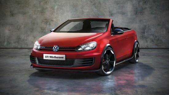 Снимки: VW представи Golf GTI Cabriolet във Вьортерзее