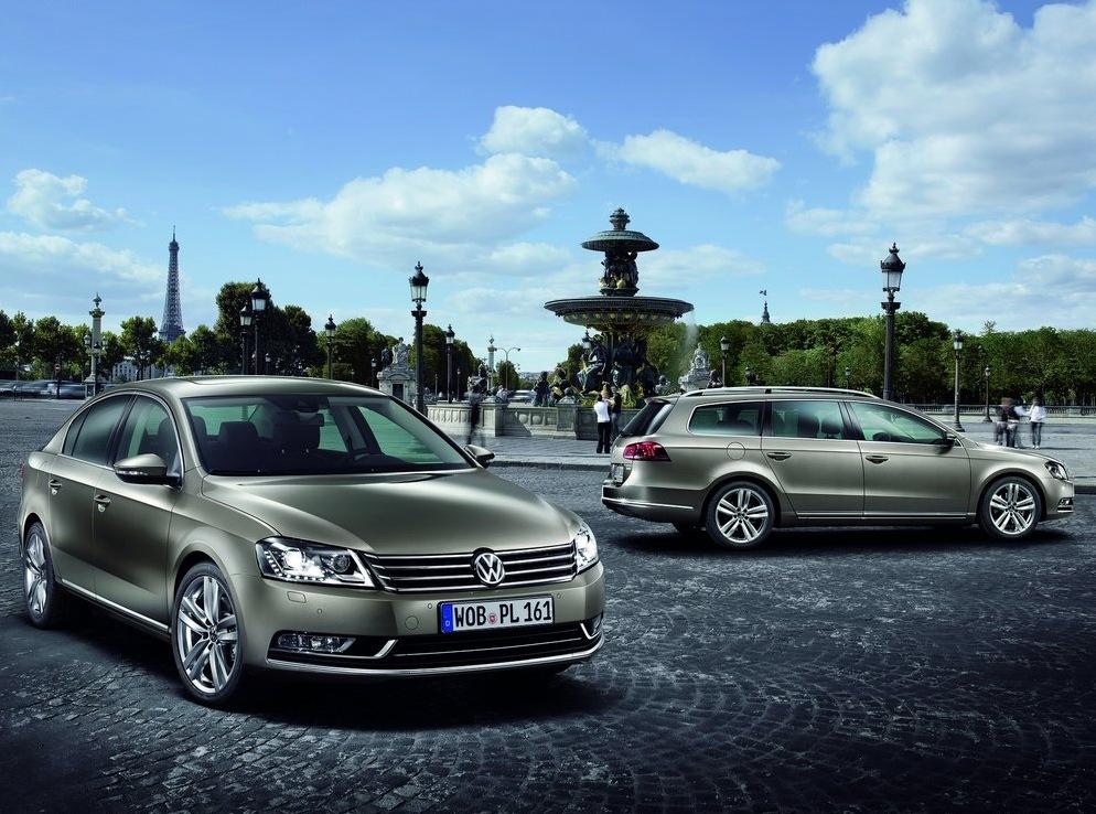 Снимки: VW реши да изкара седмото поколение Passat