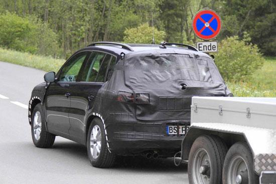 Снимки: Volkswagen модернизира кросоувъра Tiguan