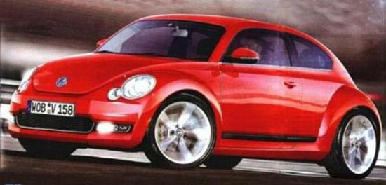 Снимки: Volkswagen ще прави нов Beetle