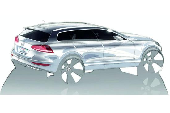Снимки: Новият VW Touraeg R ще бъде хибрид?