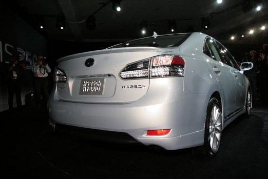 Снимки: Детройт 2009: Lexus HS250h хибрид