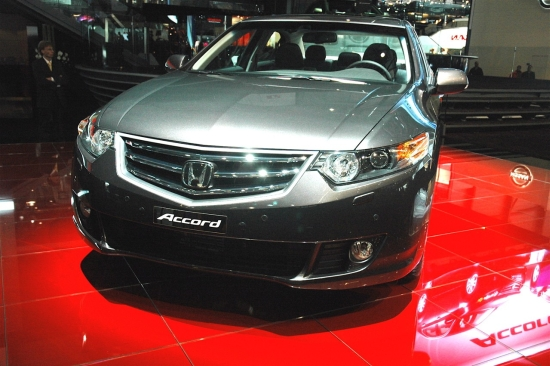 Снимки: Honda ще покаже Accord Euro Type-S в Женева