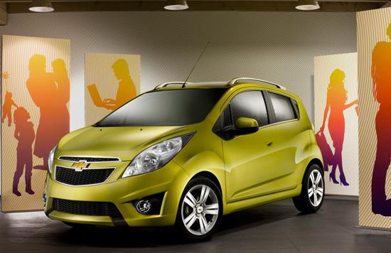 Chevrolet Spark пристига в България