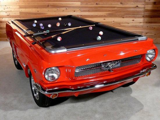 Маса за билярд или Ford Mustang от 1965?