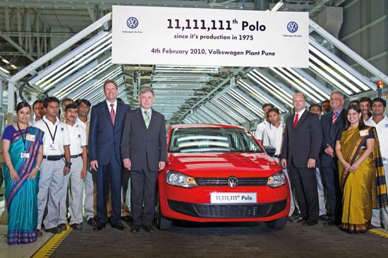 Произведоха точно 11,111,11 бройки от VW Polo