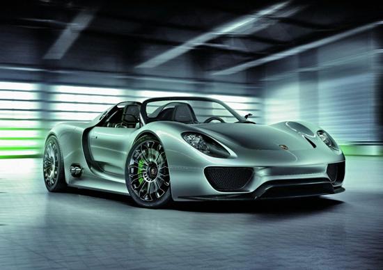 Колкото малък, толкова бърз – Porsche 918 Spyder