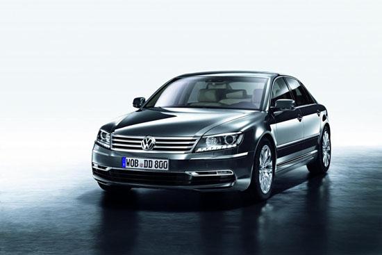 Светодиодите на новият 2011 Volkswagen Phaeton са в изобилие