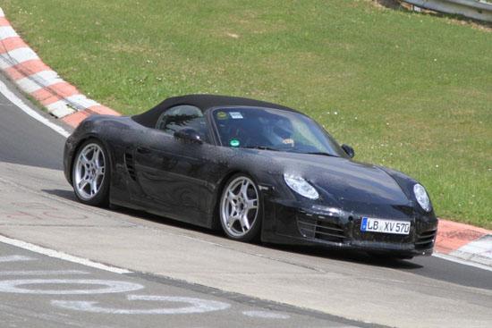 Porsche работи върху новият Boxtser